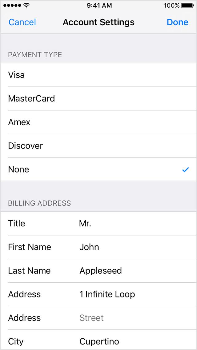 Как отвязать банковскую карту от Apple ID? И привязать снова