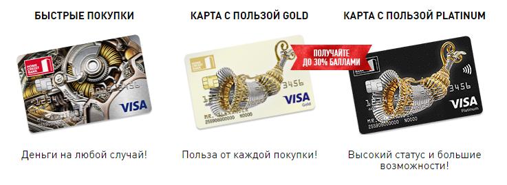 Обзор кредитных карт от Хоум Кредит Банка