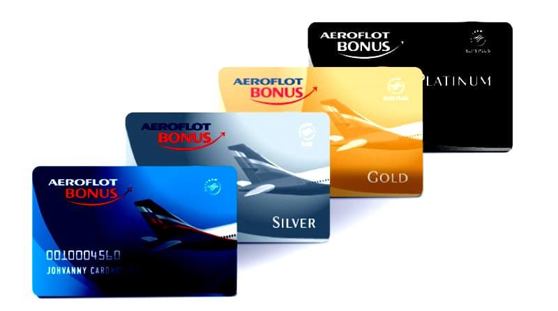 Бонусная дебетовая карта «Аэрофлот Бонус» - летаем за покупки