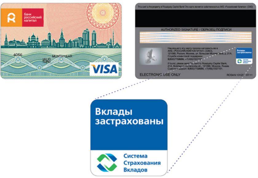 Дебетовые карты банка «Российский капитал»