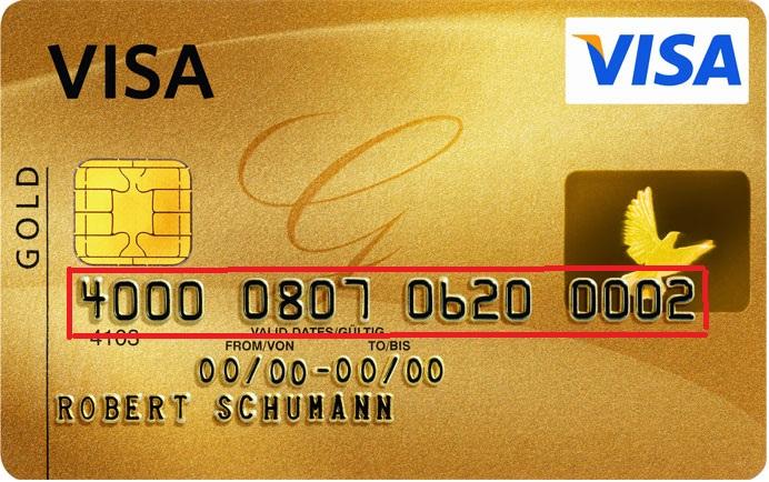 Как узнать номер кредитной карты: места, явки, пароли