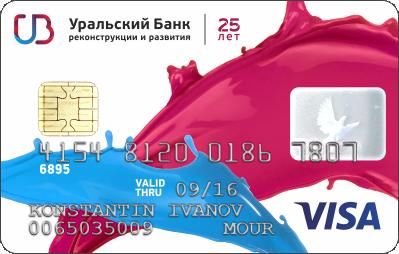 2 главные кредитные карты Уральского Банка Реконструкции и Развития