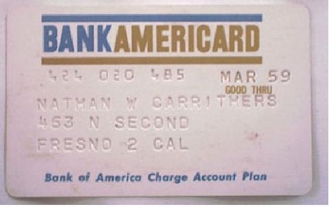 Из чего была сделана первая банковская карта: история банковских карт