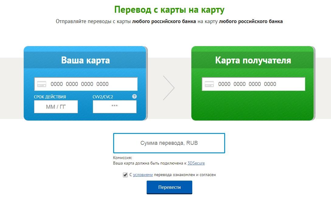 Деньги на телефон через карту УралСиб и оплата других услуг