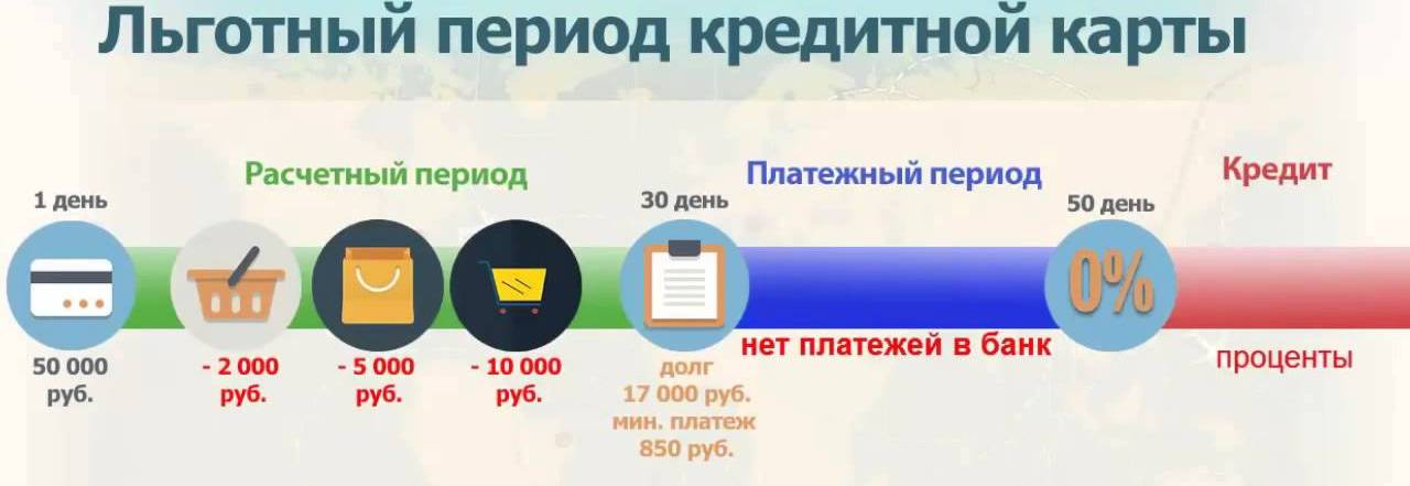 Кредитные карты Сбербанка с льготным периодом: правила пользования