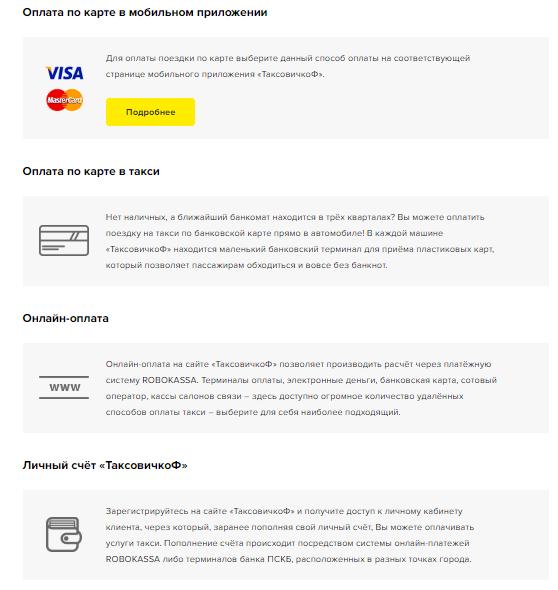 Оплата банковской картой в такси: доступные такси, безопасность